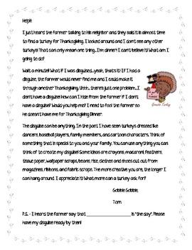Thanksgiving Turkey Disguise