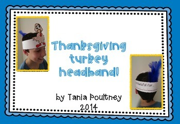 Thanksgiving Turkey Headband