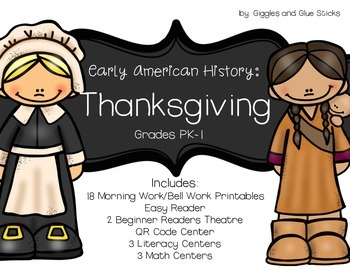 Early American History: The First Thanksgiving Unit