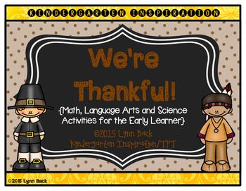 Transitional Kindergarten: We're Thankful