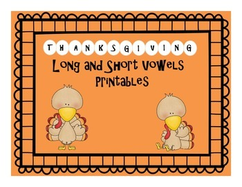 Thanksgiving Vowels