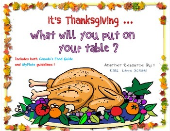 Thanksgiving-What Will You Put on Your Table? Healthy Eati