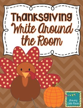 Thanksgiving Write Around the Room