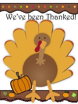 Thanksgiving- You have been thanked