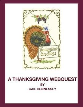 Thanksgiving and Turkey Webquest