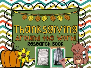 Thanksgiving around the World Research Book