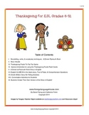 Thanksgiving for ESL Students