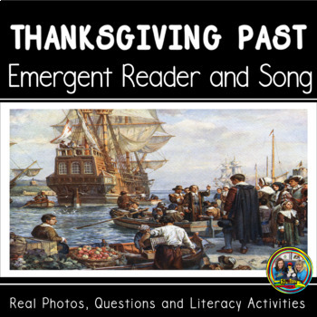 Thanksgiving in the  Past Interactive Book and Song with C