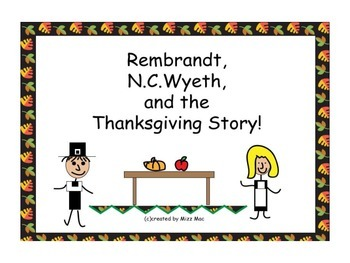 Easy Artsy Thanksgiving Story Mural