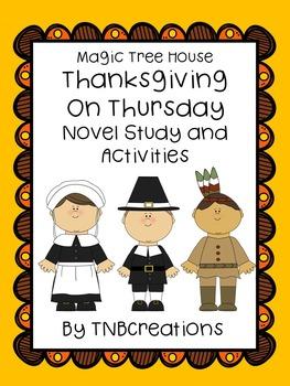 Thanksgiving on Thursday Novel Study