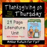 Thanksgiving on Thursday (Magic Tree House) Literature Gui