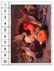 Thanksgiving skip counting pumpkin fall puzzles ESL counti