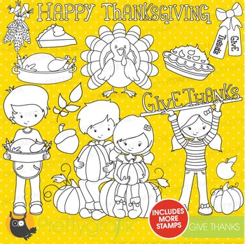 Thanksgiving stamps commercial use, vector graphics, image