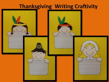 Thansgiving Writing Craftivty