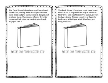 That Book Woman Activity Sheet