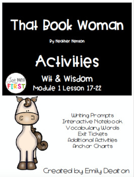 That Book Woman Wit and Wisdom Grade 1 Bundle
