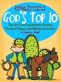 Ten Commandments for Kids (Song, Posters, Student Pages, &