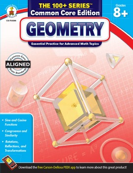 The 100+ Series Geometry Grades 8-10 SALE 20% OFF 704388