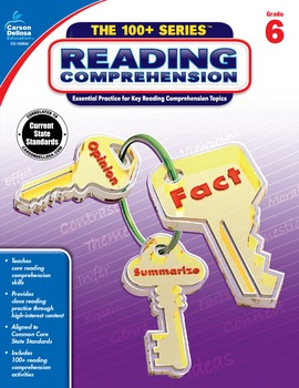 The 100+ Series Reading Comprehension Grade 6 SALE 20% OFF 104844
