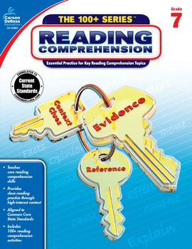 The 100+ Series Reading Comprehension Grade 7 SALE 20% OFF 104857