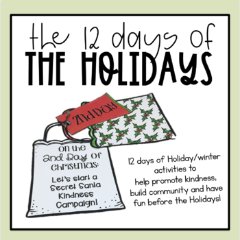 The 12 Days of Christmas Activities