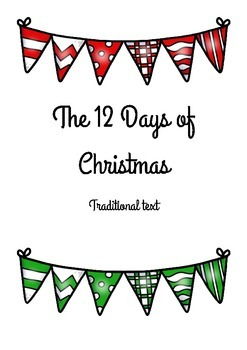 The 12 Days of Christmas Traditional Text Activities