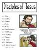 The 12 Disciples of Jesus File Folder Game