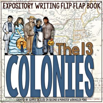 The 13 Colonies Flip Flap Book™