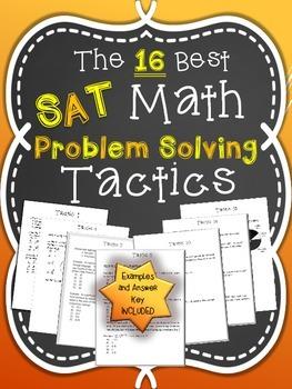 The 16 Best SAT Math Problem Solving Tactics