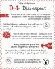 The 4 D's of Behavior Poster Pack