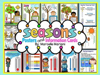 The 4 Seasons- Posters and Information Cards- 4 SEASONS TH