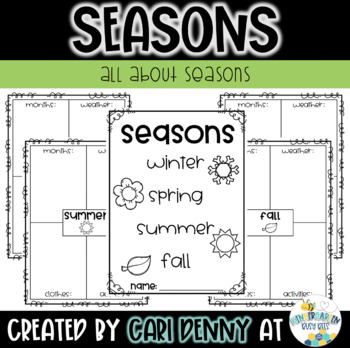 The 4 Seasons Student Booklet