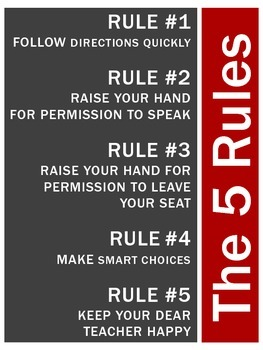 The 5 Rules - WBT