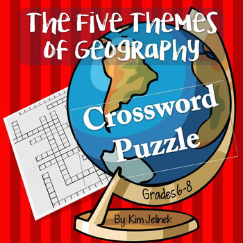 Five Themes of Geography Crossword