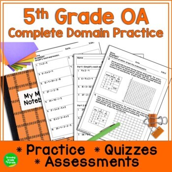 Order of Operations Super Pack! A Complete Resource For 5.OA