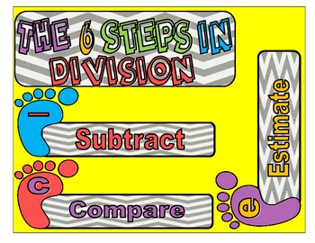 The 6 Steps to Division