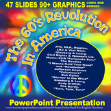 The 60's Revolution in America Vibrant and Dynamic PowerPo