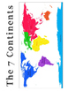The 7 Continents: Montessori 3 Part Cards and Activities