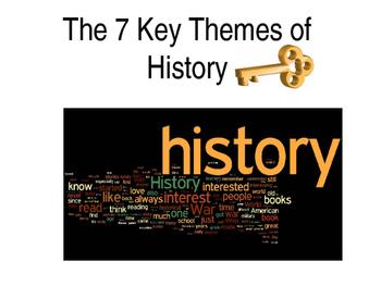 The 7 Key Themes of History