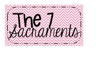 The 7 Sacraments Posters