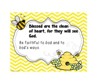 The 8 Beatitudes Posters