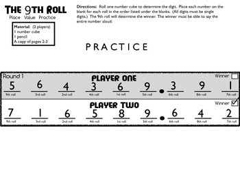 The 9th Roll Game