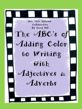 The ABC's of Adding Color To Writing With Adjectives And Adverbs