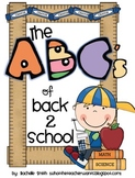 The ABC's of Back 2 School