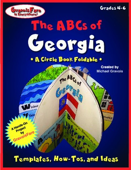 The ABCs of Georgia: A Circle Book Foldable by GravoisFare