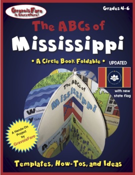 The ABCs of Mississippi: A Circle Book Foldable by GravoisFare
