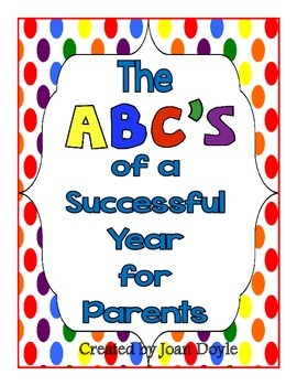 Back to School: The ABC's of a Successful Year for Parents