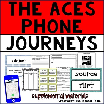 The ACES Phone Journeys 6th Grade Supplemental Materials