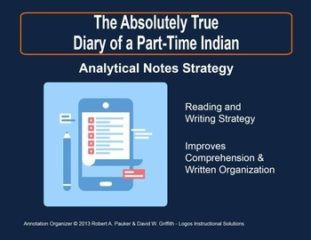 Absolutely True Diary of a Part-Time Indian: Analytical No