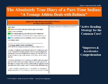 """The Absolutely True Diary of a Part-Time Indian: Article """""""